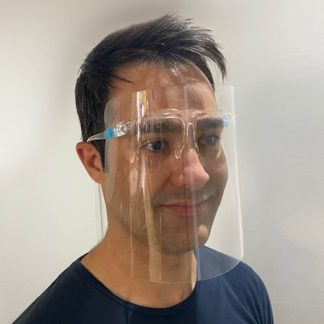 face shield clear safety 2